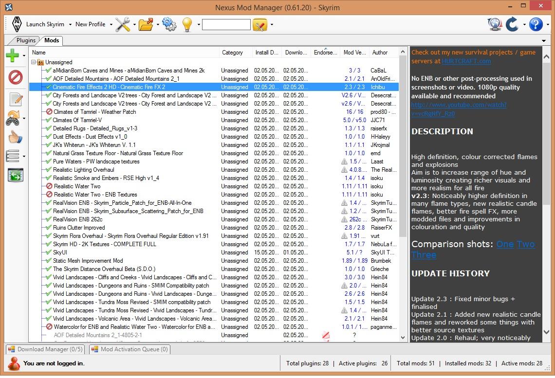 TES:Skyrim - Skyrim grünes flackern mit Mods | ComputerBase