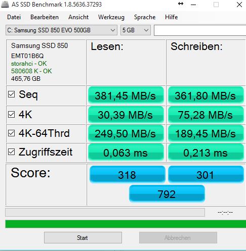 Klicke auf die Grafik für eine größere Ansicht  Name:ssdspeed.PNG Hits:619 Größe:28,0 KB ID:518906