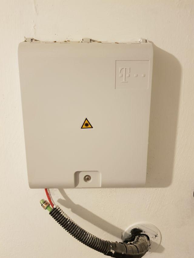 Telekom Glasfaseranschluss im Haus. Wie ideal verkabeln ...