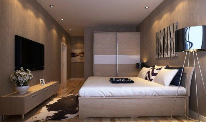 ... Tv Wandschrank Modernes Schlafzimmer