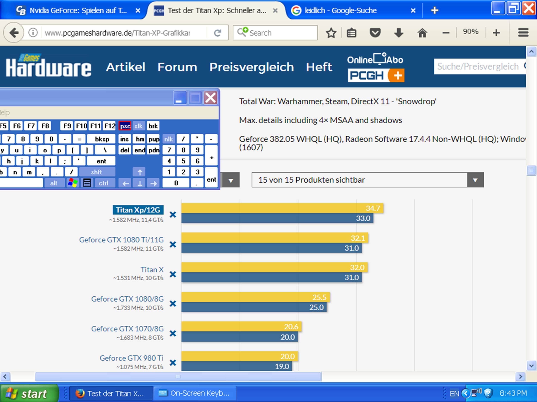Klicke auf die Grafik für eine größere Ansicht  Name:TW - Warhammer 1, maxed out 4K-UHD (Titan Xp).jpg Hits:89 Größe:410,2 KB ID:669328