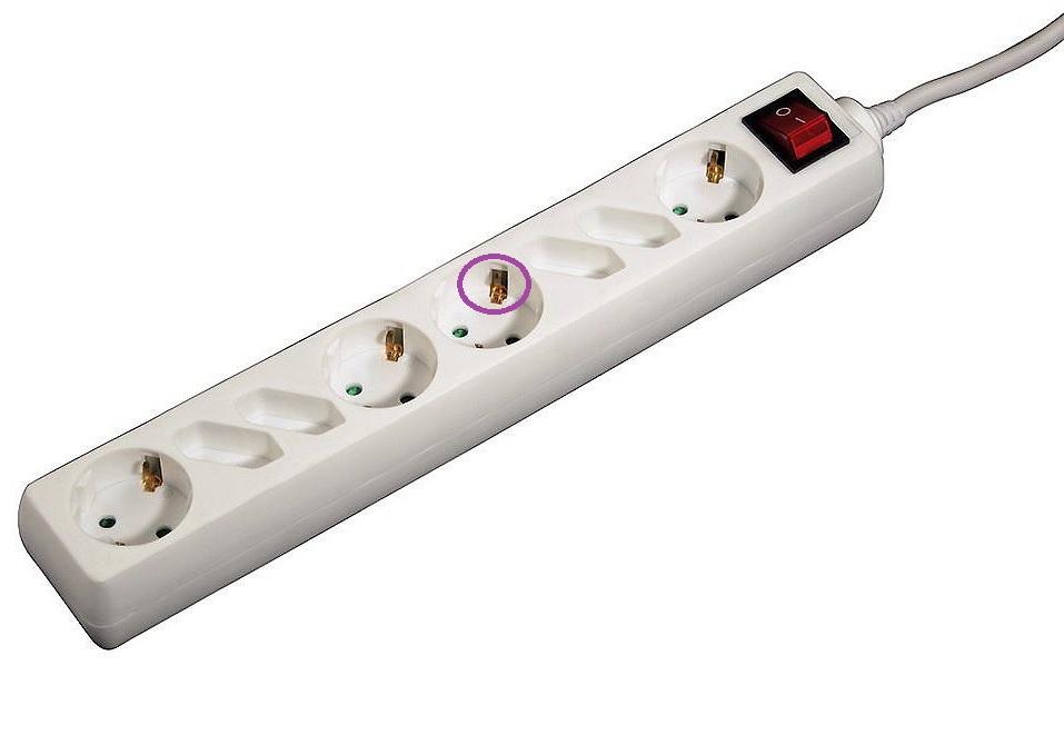 Steckdosenleiste: Erdung auch bei deaktiviertem Schalter ...