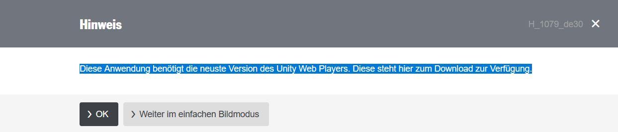 Unity WebPlayer funktioniert nicht | ComputerBase Forum