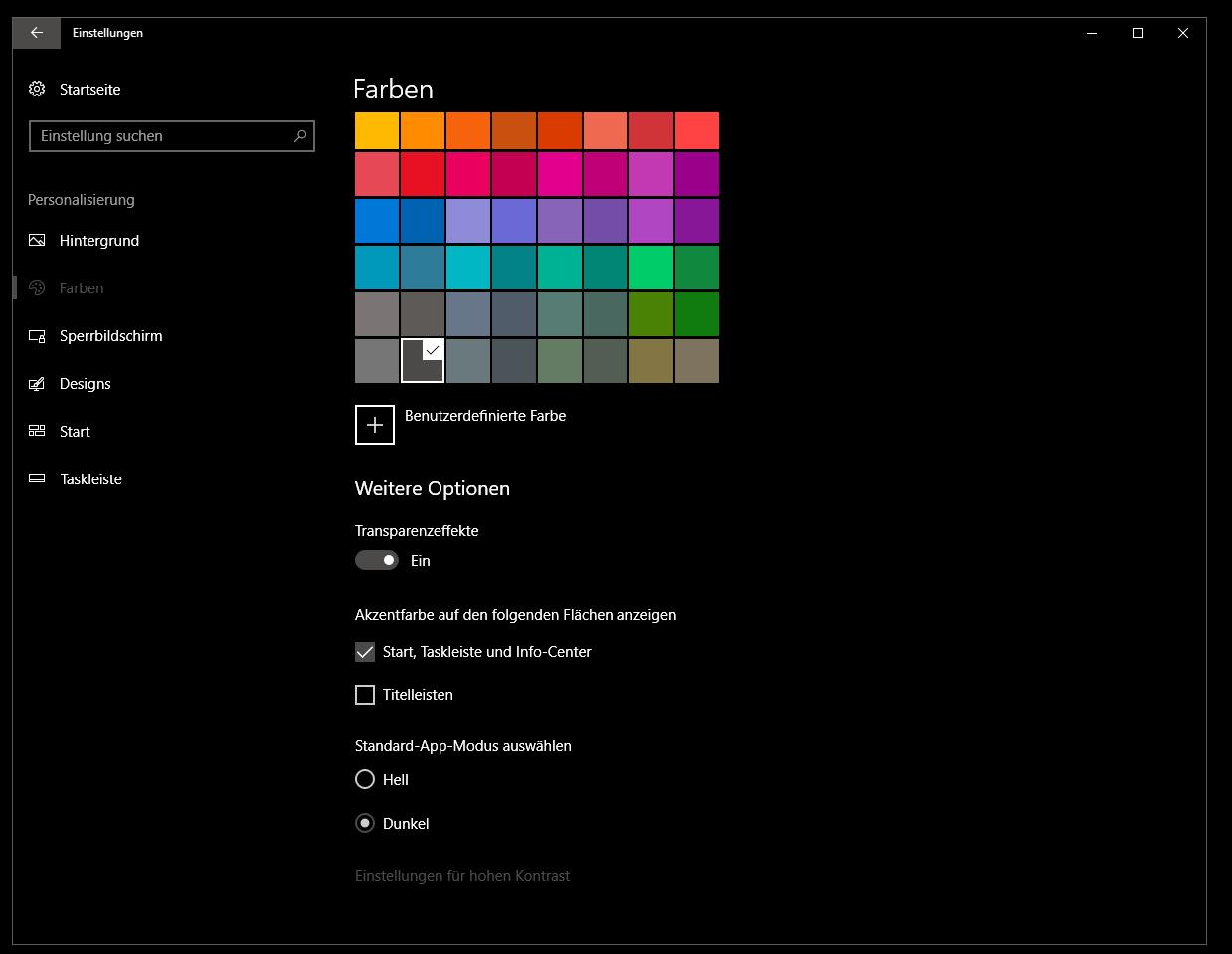 Häufig Windows Fenster Farbe in Schwarz   ComputerBase Forum WO45