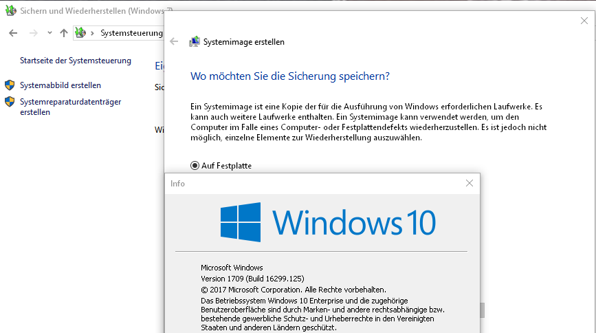 Alternative zum Windows 10 Systemabbild | ComputerBase Forum