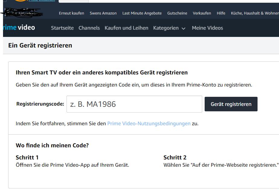Amazon De/Mytv