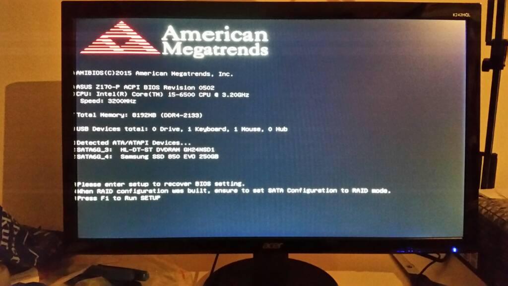 No Signal bei ACER Monitor | ComputerBase Forum
