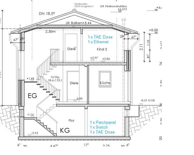 wunderbar ein haus verkabeln bilder elektrische. Black Bedroom Furniture Sets. Home Design Ideas