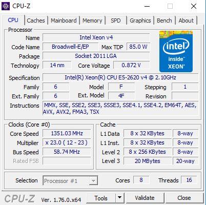 Klicke auf die Grafik für eine größere Ansicht  Name:Virenscan CPU-Z.JPG Hits:374 Größe:56,3 KB ID:557554